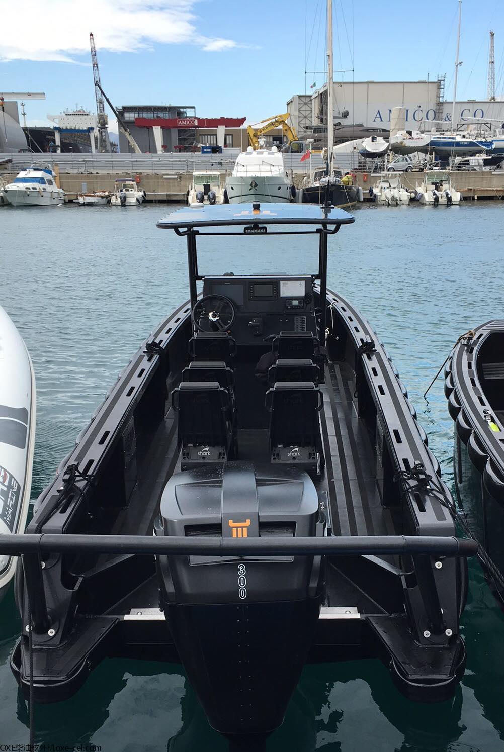 Tide Man Boat搭载OXE 300马力柴油舷外机