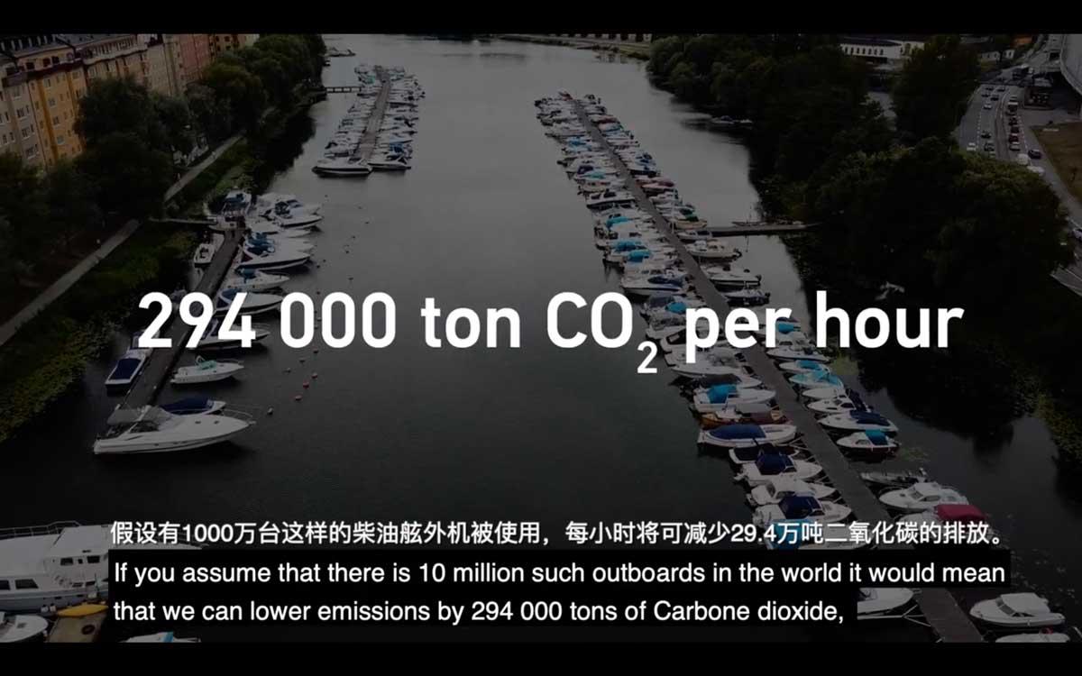 每小时减少29.4万吨二氧化碳排放