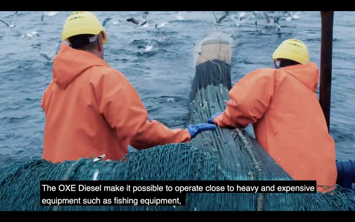 OXE舷外机应用于专业渔船