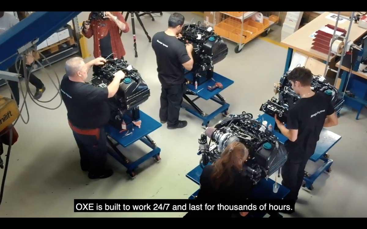 OXE舷外机工厂生产车间